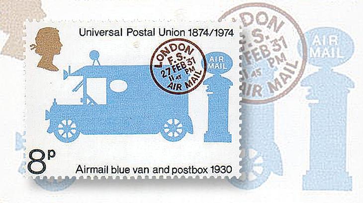 great-britain-pillar-box-1974-universal-postal-union-100th-anniversary-stamp