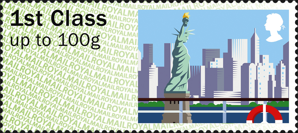 great-britain-post-n-go-label-statue-of-liberty-2015