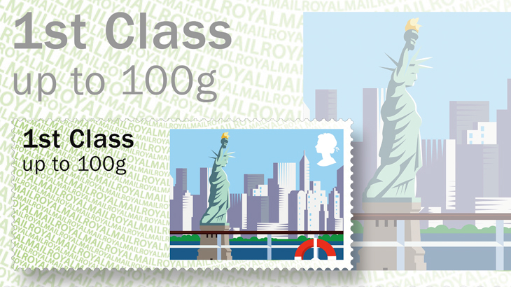 great-britain-post-n-go-label-statue-of-liberty