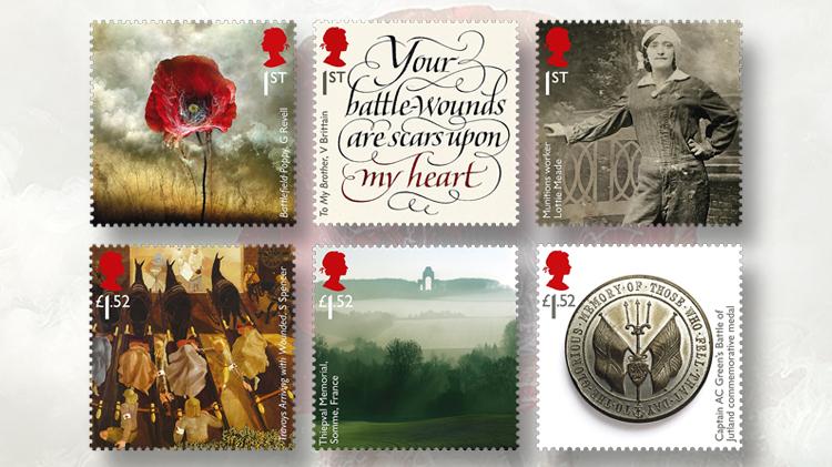 great-britain-world-war-1-stamps-1916