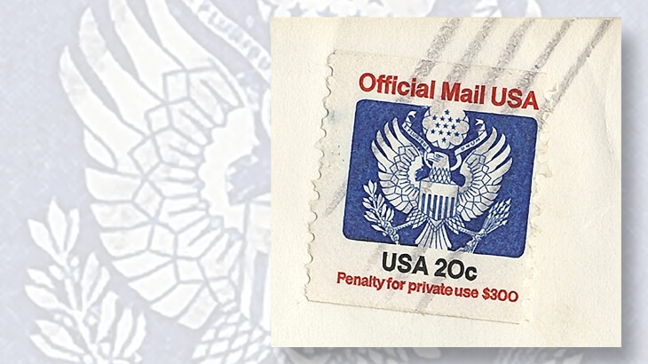 Collector Discovers 1983 Official Mail Stamp Error Linns Com