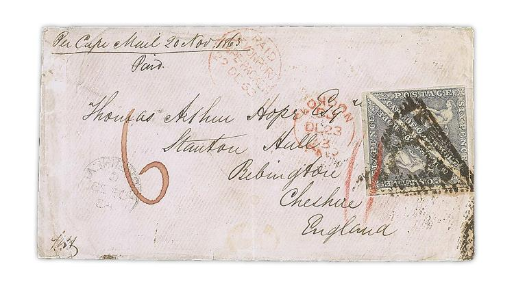greca-collection-1863-cover-1855-cape-good-hope-triangle-stamps