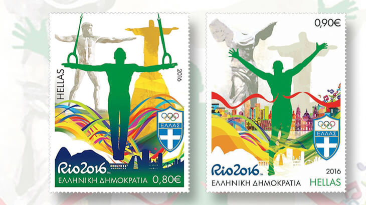 greece-2016-rio-olympics-stamps
