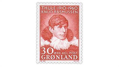 greenland-1960-knud-rasmussen-stamp