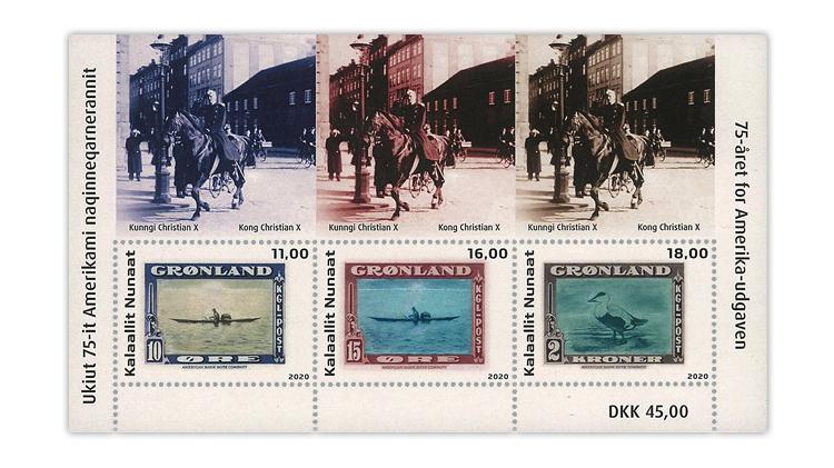 greenland-2020-75th-anniversary-American-issue-souvenir-sheet