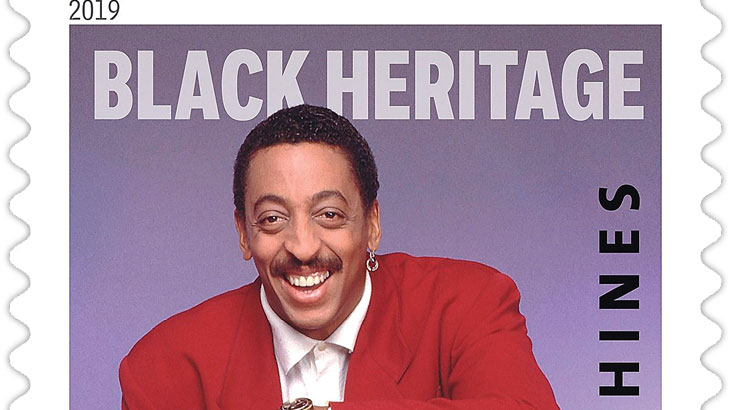 Gregory Hines honored on 42nd Black Heritage stamp