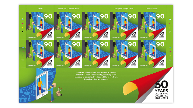 guernsey-2019-90-penny-postal-operations-pane