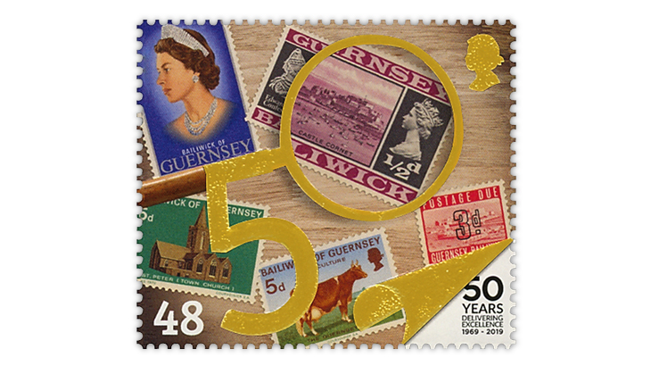 guernsey-stamp-on-stamp-1969-first-issue