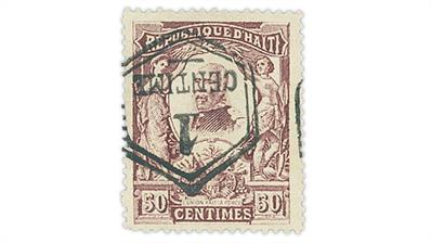 haiti-1906-50-centavo-pierre-nord-alexis-stamp-inverted-surcharge