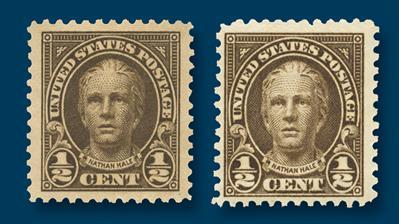half-cent-stamp-flat-plate-rotary-press