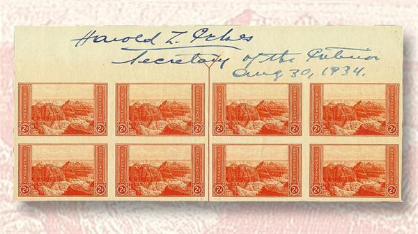 harmer-1934-marginal-blocks