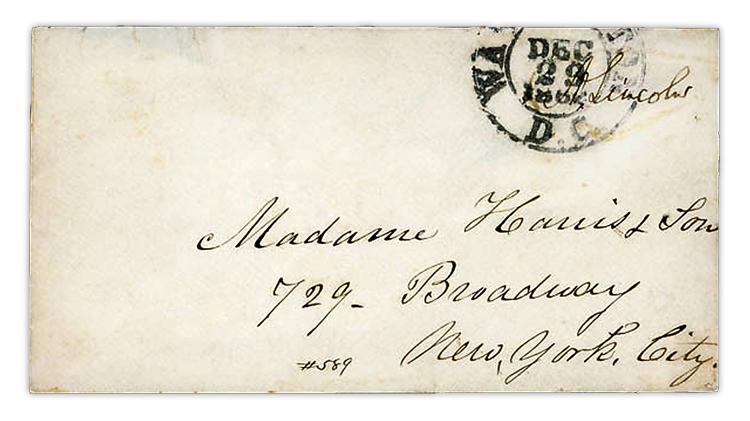 harmer-schau-auction-1862-abraham-lincoln-free-frank-cover
