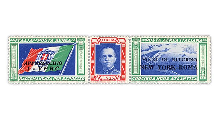 harmer-schau-auction-1933-italy-balbo-airmail-issue