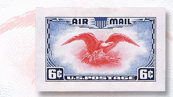 harmers-bicolor-six-cent-eagle-airmail-1938