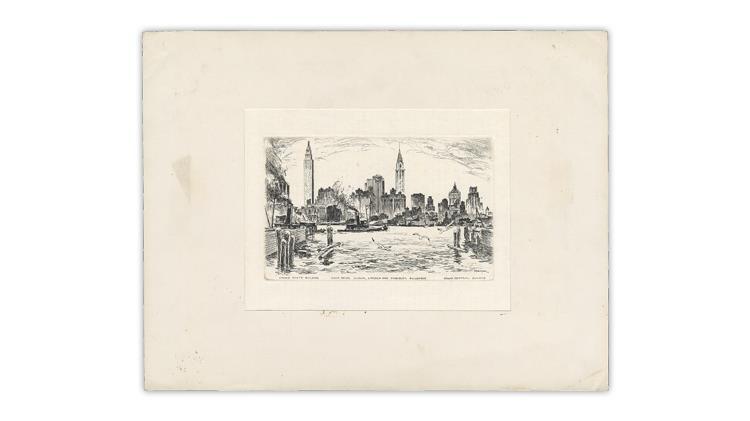 harry-lindquist-1965-christmas-card-paul-berdanier-etching
