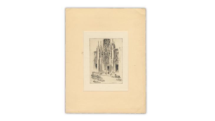 harry-lindquist-1968-christmas-card-saint-patricks-cathedral-new-york-city