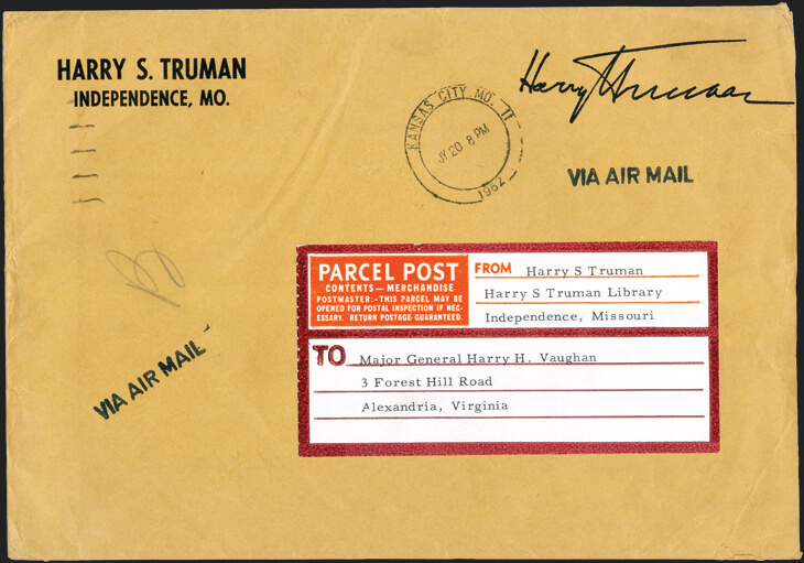 harry-s-truman-airmail-cover