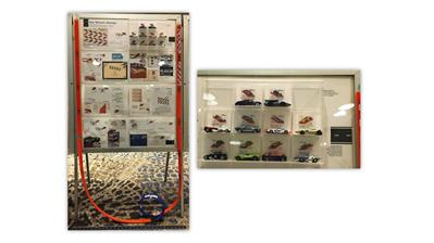 Hot Wheels commemorative stamp exhibit by Jay Bigalke