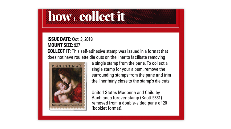How To Collect It Feature Completed For 2018 US Stamp Program