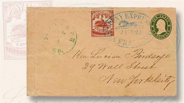 hr-harmer-pony-express-cover-world-stamp-show-ny-2016-auction