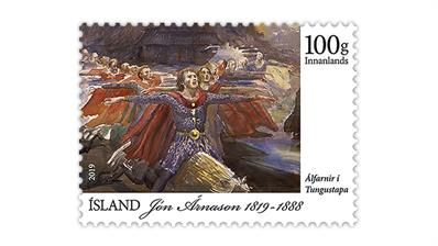 iceland-postage-stamp-folklore-september