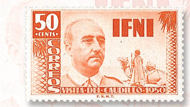 ifni-francisco-franco-stamp