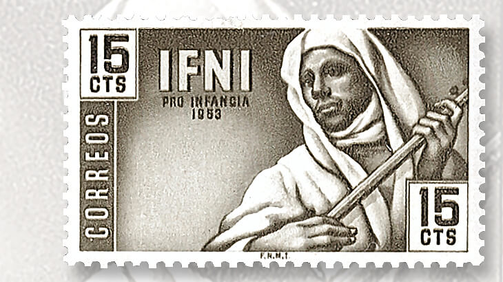 ifni-musician-stamp-issue