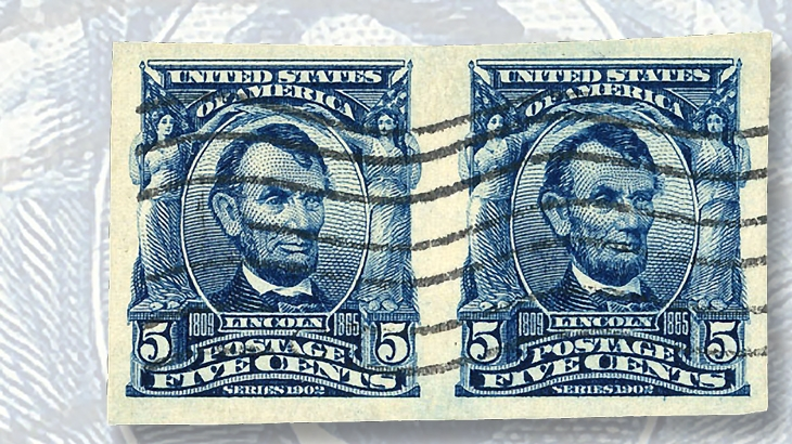 imperforate-1908-five-cent-lincoln-stamp