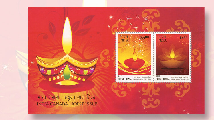 india-diwali-souvenir-sheet-joint-issue-canada