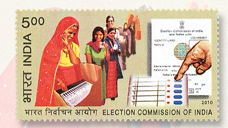 india-election-commission-stamp