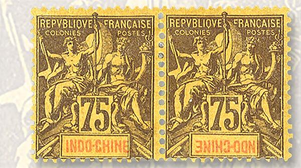 indochina-pair-colony-name-inverted-right-stamp