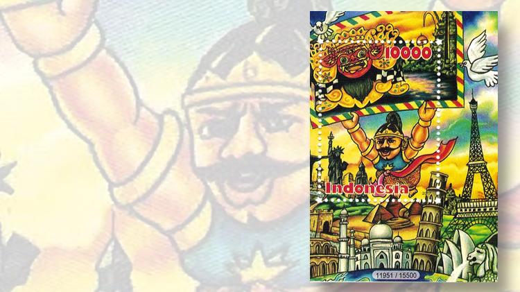 indonesian-postcrossing-souvenir-sheet