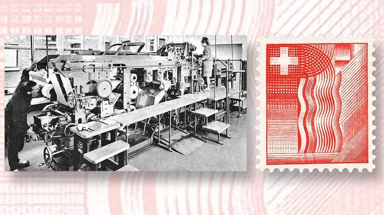 intaglio-press-cross-wavy-lines-test-stamps