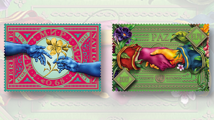international-day-peace-vienna-hands-stamps