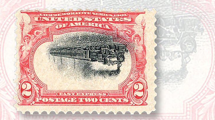 inverted-center-2-cent-stamp-empire-state-express