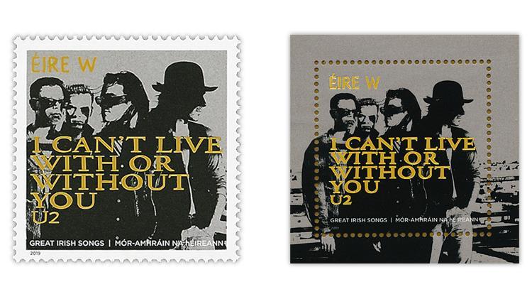 ireland-2019-u2-with-or-without-you-lyrics-stamps