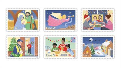 ireland-2020-christmas-nativity-santa-claus-stamps