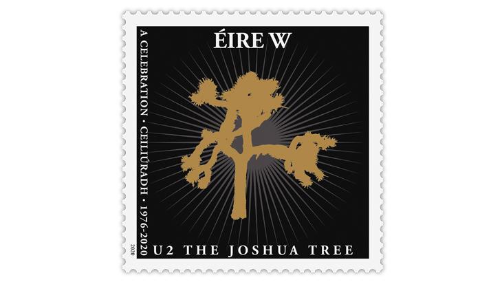 ireland-2020-u2-joshua-tree-stamp