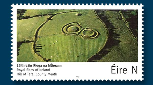 ireland-stamp-royal-sites-hill-of-tara-county-meath