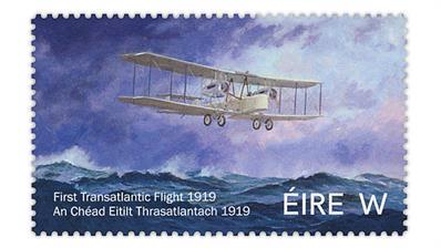 ireland-transatlantic-first-flight-postage-stamp