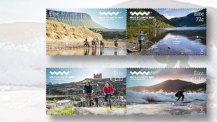 ireland-wild-atlantic-way-stamps