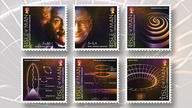 isle-of-man-albert-einstein-stephen-hawking-stamps