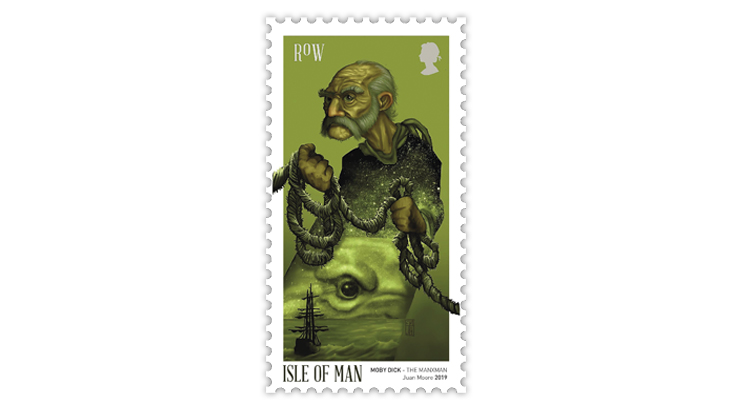 isle-of-man-manxman-stamp-moby-dick-melville