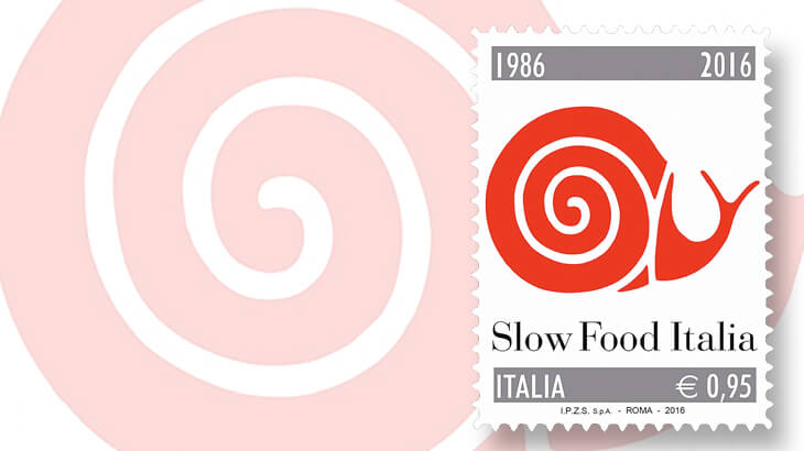 italy-2016-slow-food-movement-snail-stamp