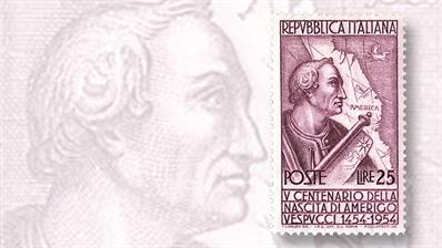 italy-amerigo-vespucci-stamp