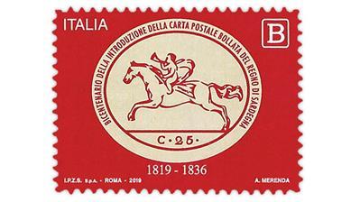 italy-sardinia-cavallini-2019-postage-stamp