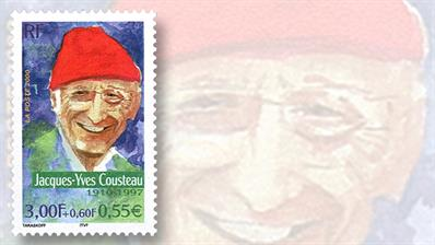 jacques-cousteau-french-semipostal-stamp