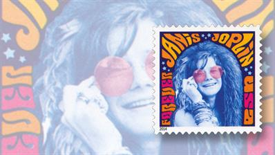 janis-joplin-music-icons-stamp
