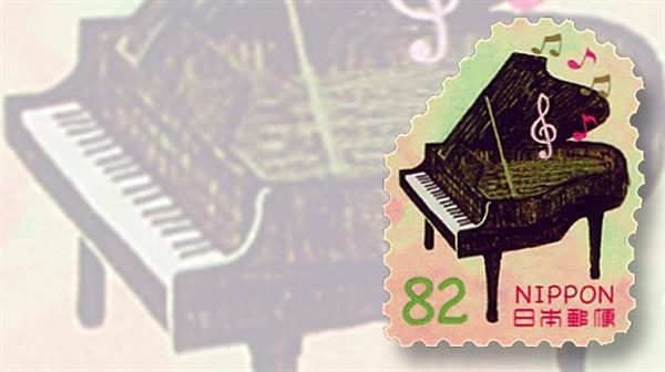 japan-musical-instruments-piano-stamp-bg