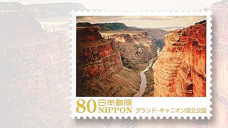 japan-stamp-grand-canyon